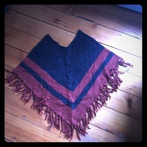 Anthropologie Element Poncho sweater